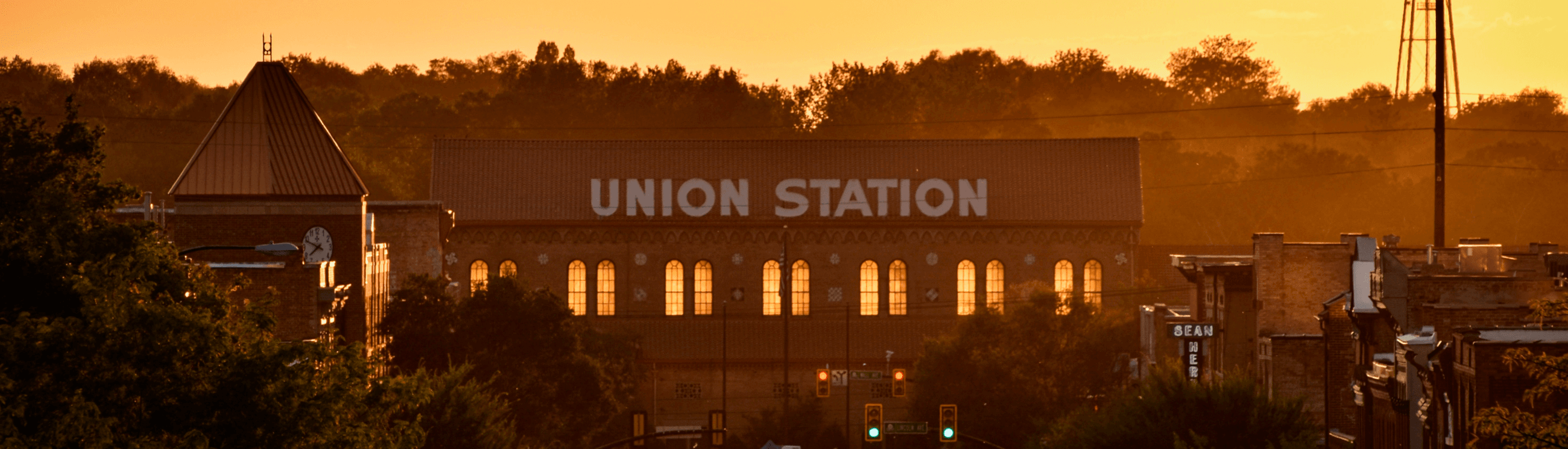 Union Station Sunset