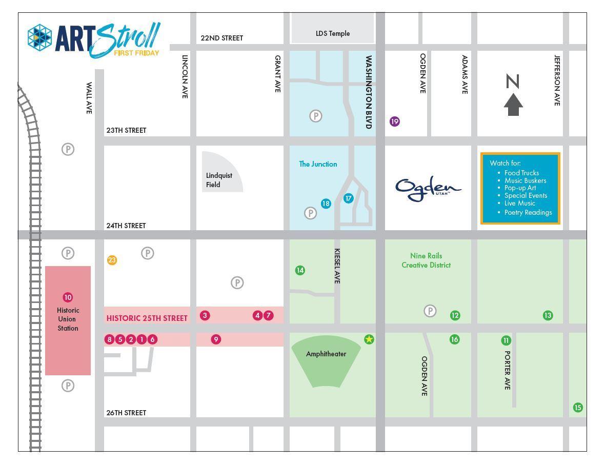2020 ArtStroll Map bk
