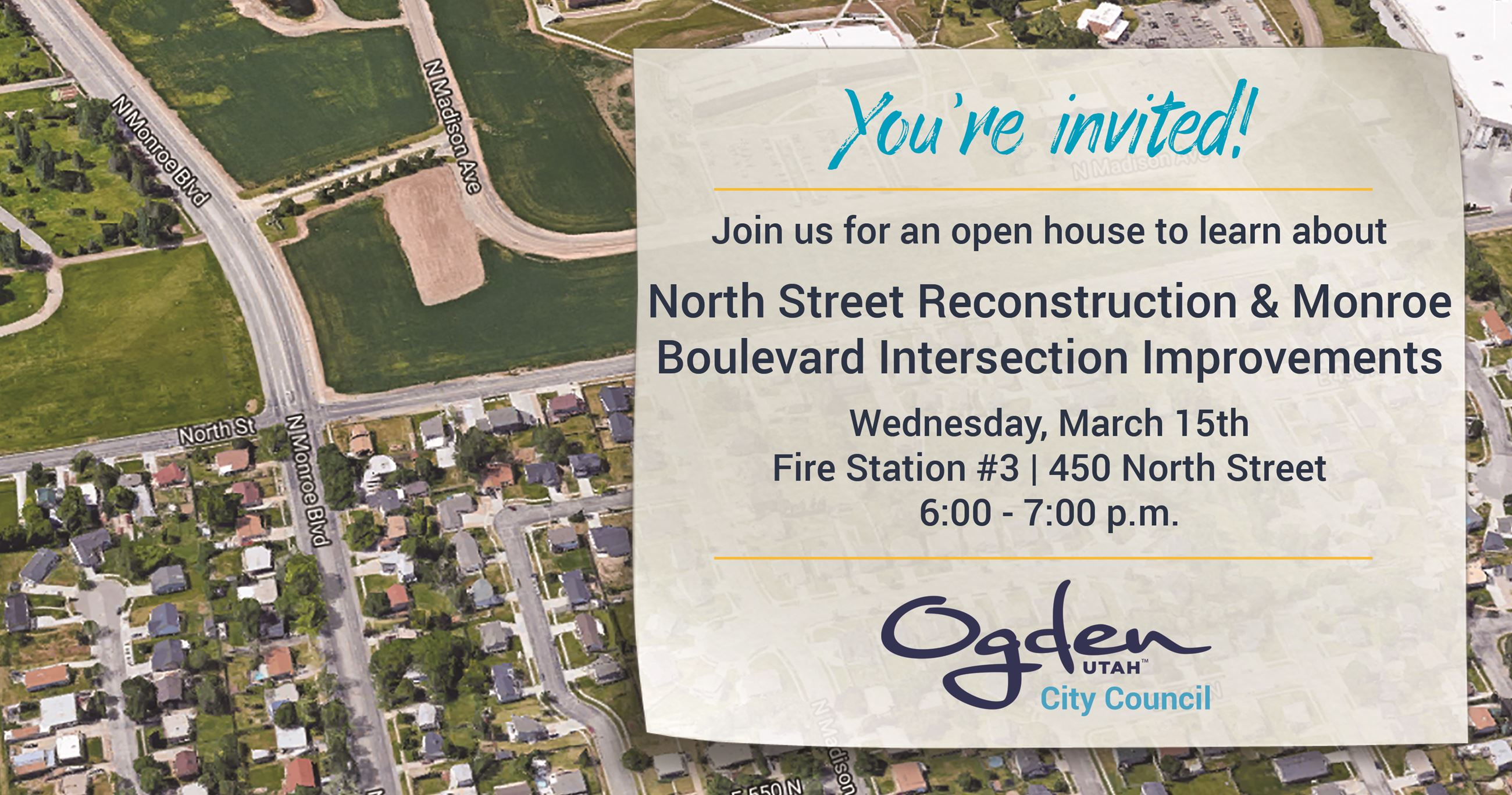 Monroe and North Street Intersection Open House