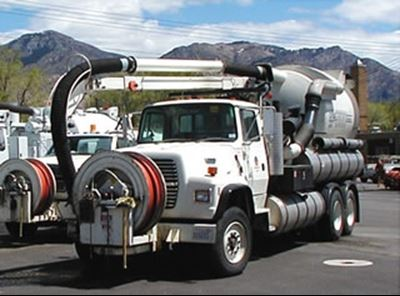 Sewer Truck