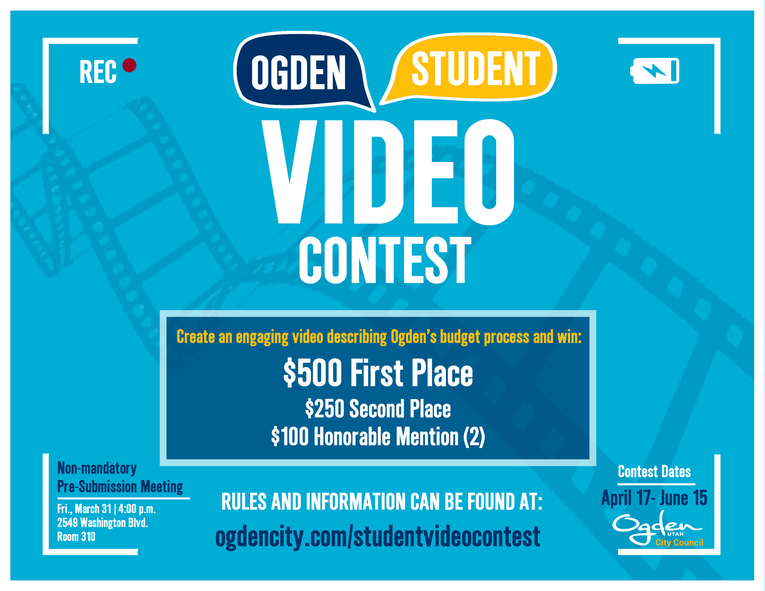 Video Contest Flyer