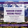 The Council will receive public input on a developer&#39s proposal for student housing on Harrison.