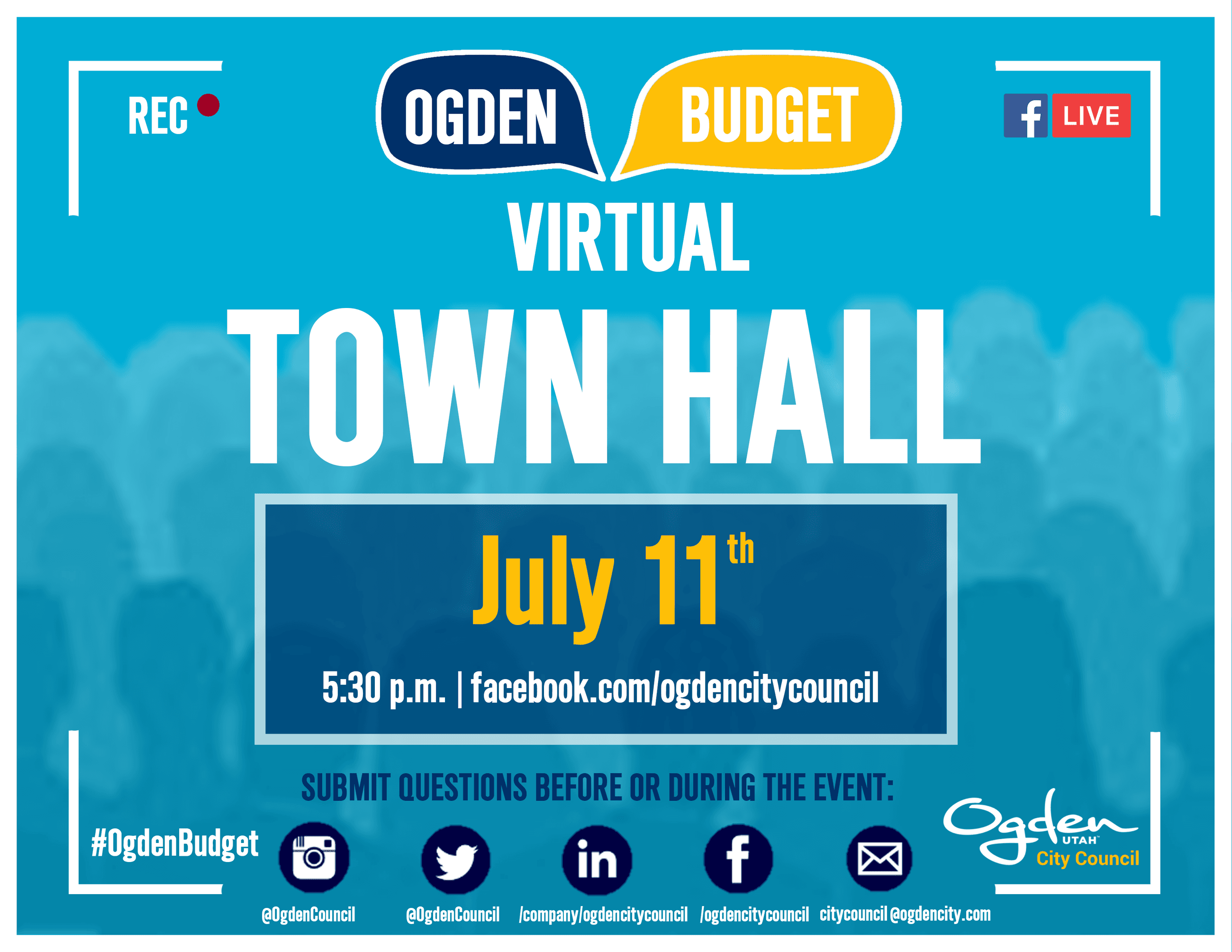 Virtual Town Hall on Budget