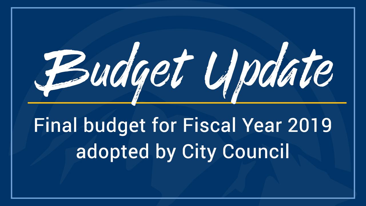FY19 Final Budget Press Release Graphic