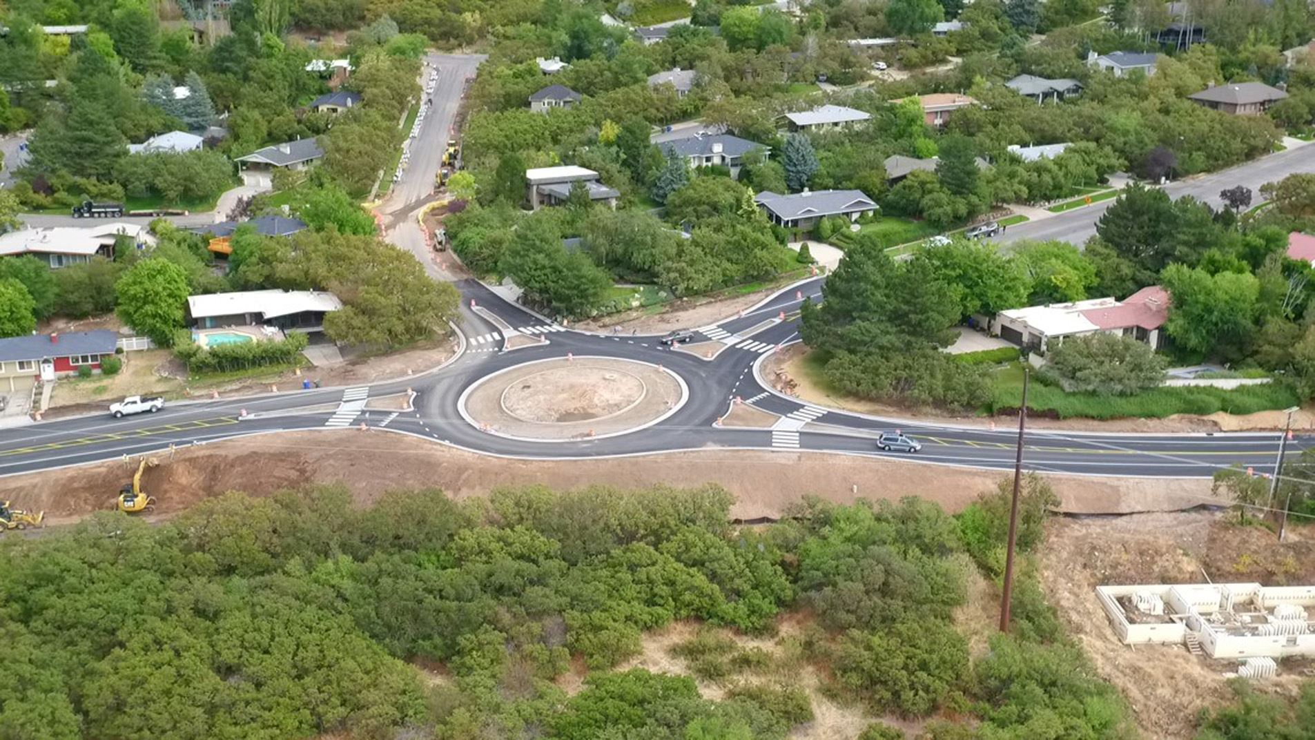New Skyline Parkway Roundabout