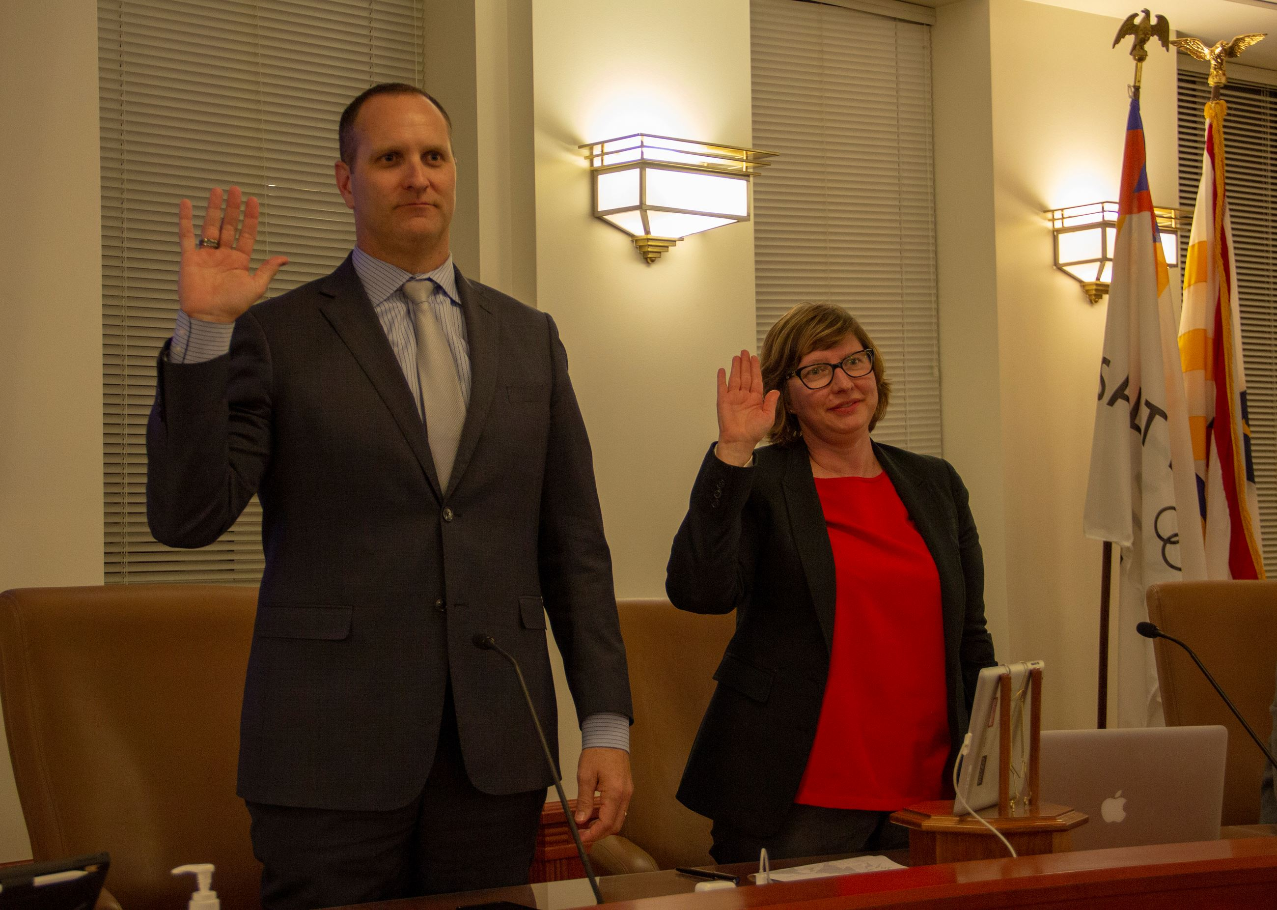Council Members Ben Nadolski and Angela Choberka elected to Council Leadership