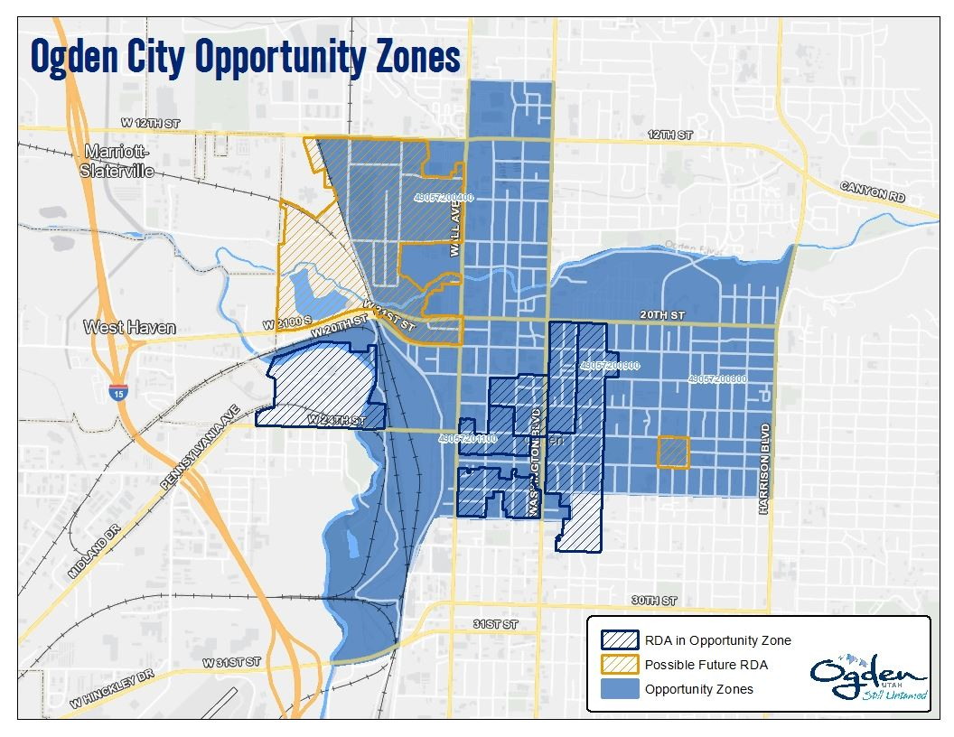 Opportunity Zones Map