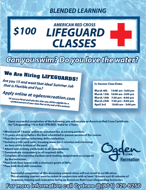 Lifeguard Class  Opens in new window