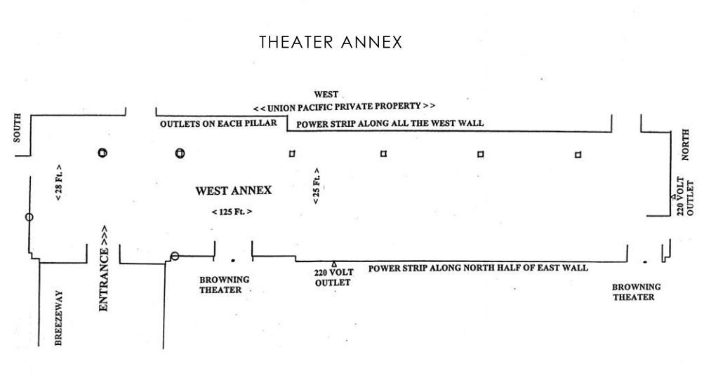 Theater Annex Floor Plan
