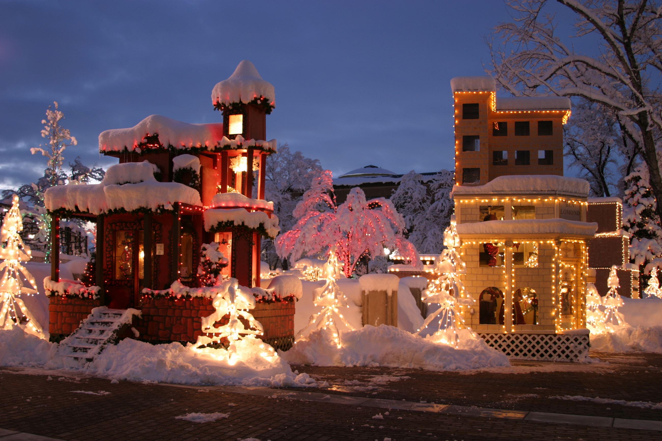Christmas Village | Ogden, UT