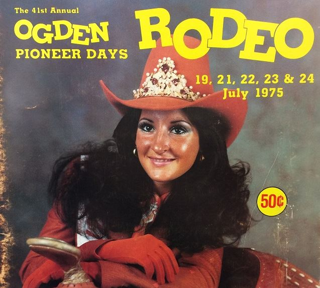"Schedule of events for ""The World's Outstanding Rodeo"" and 1975 Pioneer Days"