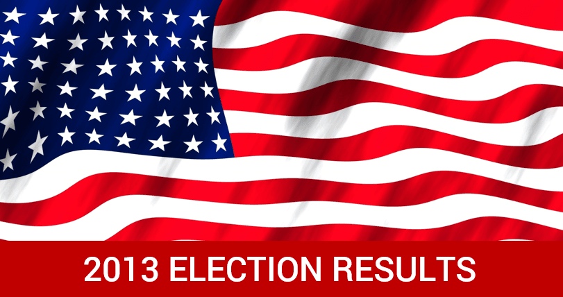 2013 Election Results