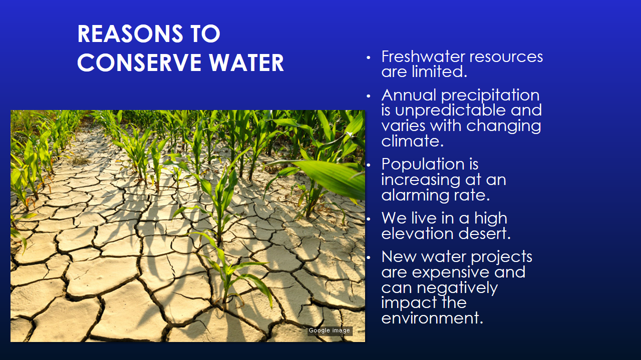 Water Conservation Presentation - Slide 2